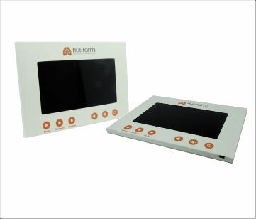 Flutiform | A5 Inbouw module met 7 inch beeldscherm