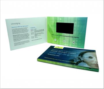 AcademicTransfer | A5 Video Brochure met LCD beeldscherm