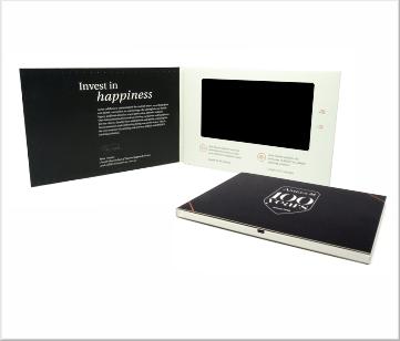 Amels | A5 Video Brochure met LCD beeldscherm