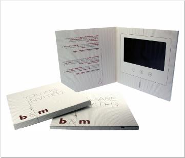 B&M | Video Brochure met LCD beeldscherm