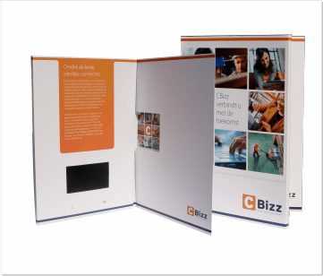Bizz | A4 VideoBox met 4.3 inch beeldscherm