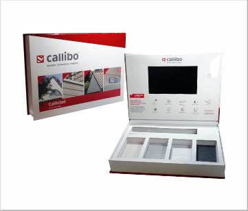 Callibo | A4 VideoBox met 7 inch beeldscherm