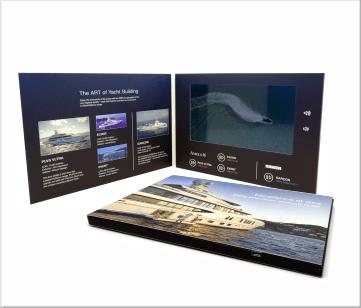 Damen | A5 Video Brochure met beeldscherm