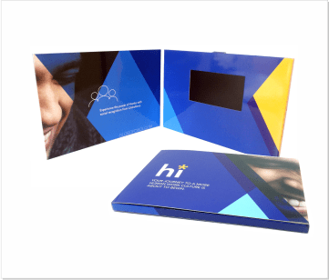 GlobolForce | A5 Video Brochure met 4.3 inch beeldscherm