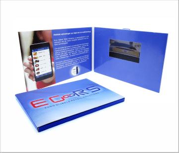 E-Goors | A5 Video Brochure met LCD beeldscherm