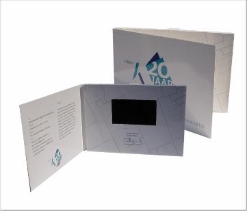 Kadaster | A5 Video Brochure met 4.3 inch beeldscherm