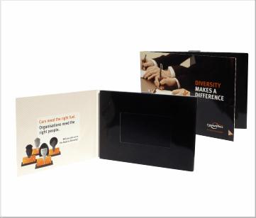 Leaseplan | A6 Video Brochure met 4.3 inch beeldscherm