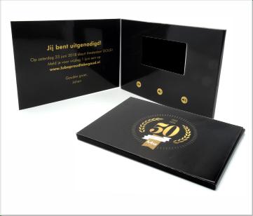 Luba | A5 Video Brochure met LCD beeldscherm
