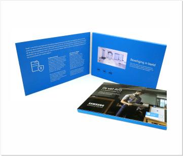 Samsung | A5 Video Brochure met LCD beeldscherm
