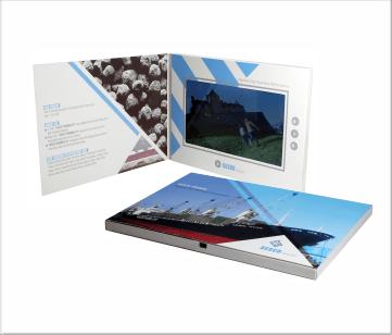 Sesco | A5 Video Brochure met 7 inch beeldscherm
