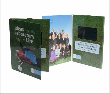 Teva | A5 Video Brochure met 4.3 inch beeldscherm