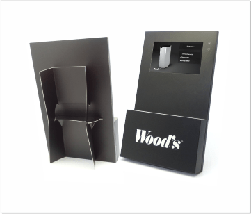 Woods | A3 Video display met 7 inch beeldscherm