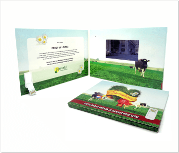 Zijerveld | A5 Video Brochure met 4.3 inch beeldscherm
